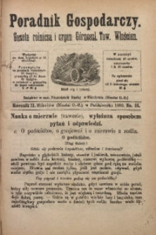 Poradnik Gospodarczy, 1880, R. 2, Nr. 21