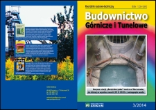 Budownictwo Górnicze i Tunelowe, 2014, nr3