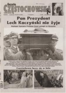 Gazeta Częstochowska, 2010, nr 15 (954)