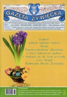 Gazeta Żywiecka, 2007, nr 4 (224)