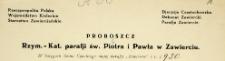 Dowody do akt zgonu - 1930 r. - alegata