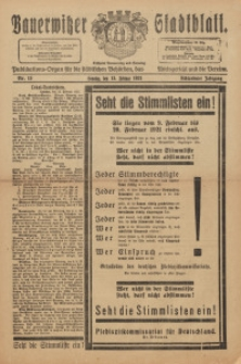 Bauerwitzer Stadtblat, 1921, Jg. 18, Nr. 13