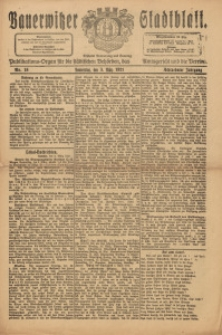 Bauerwitzer Stadtblatt, 1921, Jg. 18, Nr. 18