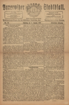 Bauerwitzer Stadtblat, 1920, Jg. 17, Nr. 88