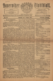 Bauerwitzer Stadtblat, 1920, Jg. 17, Nr. 96