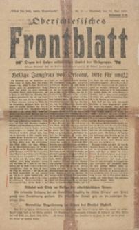 Oberschlesisches Frontblatt, 1921, Nr. 2