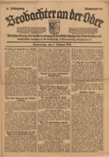 Beobachter an der Oder, 1920, Jg. 78, Nr. 119