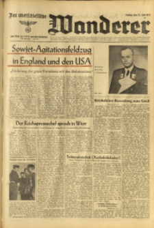 Der Oberschlesische Wanderer, 1943, Jg. 116, Nr. 172