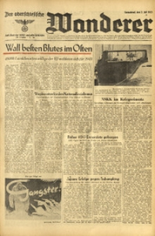 Der Oberschlesische Wanderer, 1943, Jg. 116, Nr. 180