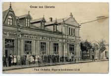 Gruss aus Gleiwitz. Paul Onderka, Hegenscheidstrasse 32/34
