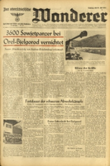 Der Oberschlesische Wanderer, 1943, Jg. 116, Nr. 195