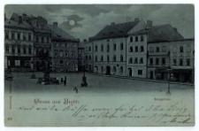 Gruss aus Bielitz. Ringplatz