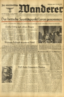 Der Oberschlesische Wanderer, 1943, Jg. 116, Nr. 318