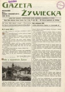 Gazeta Żywiecka, 1989, nr 3