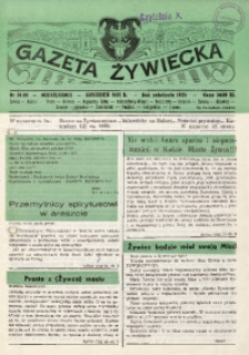 Gazeta Żywiecka, 1991, nr 14 (36)