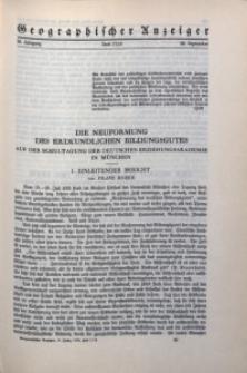 Geographischer Anzeiger, 1935, Jg. 36, H. 17/18