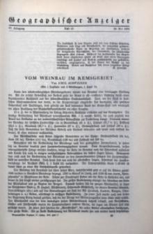 Geographischer Anzeiger, 1936, Jg. 37, H. 10
