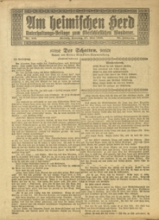 Am Heimischen Herd, 1920, Jg. 93, Nr. 145