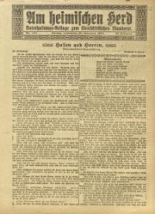 Am Heimischen Herd, 1920, Jg. 93, Nr. 274