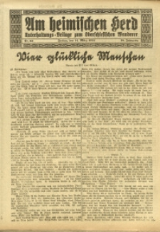 Am Heimischen Herd, 1924, Jg. 96, Nr. 63