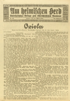 Am Heimischen Herd, 1924, Jg. 96, Nr. 97