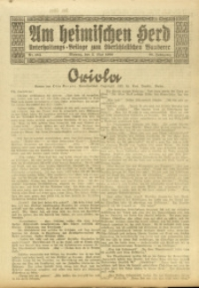 Am Heimischen Herd, 1924, Jg. 96, Nr. 105