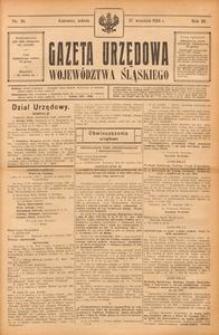 Gazeta Urzędowa Województwa Śląskiego, 1924, R. 3, nr 39