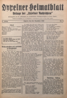 Oppelner Heimatblatt, 1928/1929, Jg. 4, Nr. 9