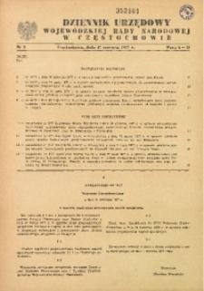 Dziennik Urzędowy Wojewódzkiej Rady Narodowej w Częstochowie, 1977, Nr 2
