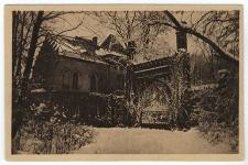 Winterzauber am Schlosstor in Naklo, Kr. Tarnowitz