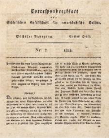 Correspondenzblatt, 1815, Jg. 6, H. 1, Nr. 7