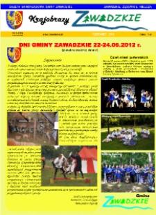 Krajobrazy Zawadzkiego : gazeta samorządowa gminy Zawadzkie : Zawadzkie, Żędowice, Kielcza 2012, nr 5 (151).