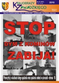 Krajobrazy Zawadzkiego : gazeta samorządowa gminy Zawadzkie : Zawadzkie, Żędowice, Kielcza 2016, nr 8 (187).