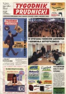 Tygodnik Prudnicki : gazeta lokalna gmin : Prudnik, Biała, Głogówek, Korfantów, Lubrza, Strzeleczki, Walce. R. 14, nr 12 (642).