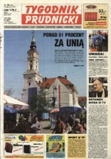 Tygodnik Prudnicki : gazeta lokalna gmin : Prudnik, Biała, Głogówek, Korfantów, Lubrza, Strzeleczki, Walce. R. 14, nr 18 (648).