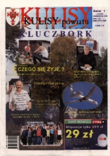 Kulisy Powiatu Kluczbork 2003, nr 1.