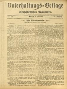 Unterhaltungs-Beilage zum Oberschlesischen Wanderer, 1911, Jg. 84, Nr. 156