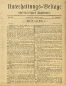 Unterhaltungs-Beilage zum Oberschlesischen Wanderer, 1911, Jg. 84, Nr. 224