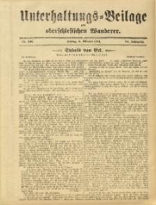 Unterhaltungs-Beilage zum Oberschlesischen Wanderer, 1911, Jg. 84, Nr. 230