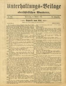 Unterhaltungs-Beilage zum Oberschlesischen Wanderer, 1911, Jg. 84, Nr. 235