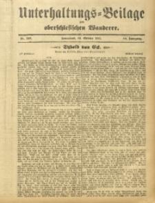 Unterhaltungs-Beilage zum Oberschlesischen Wanderer, 1911, Jg. 84, Nr. 237