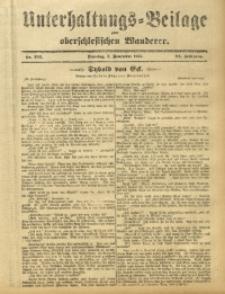 Unterhaltungs-Beilage zum Oberschlesischen Wanderer, 1911, Jg. 84, Nr. 256