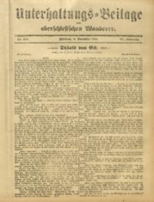 Unterhaltungs-Beilage zum Oberschlesischen Wanderer, 1911, Jg. 84, Nr. 257