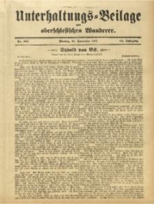 Unterhaltungs-Beilage zum Oberschlesischen Wanderer, 1911, Jg. 84, Nr. 267