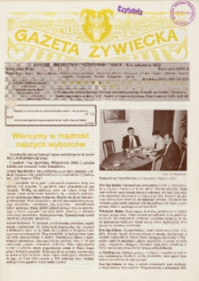 Gazeta Żywiecka, 1995, nr 11 (85)