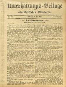 Unterhaltungs-Beilage zum Oberschlesischen Wanderer, 1911, Jg. 84, Nr. 162