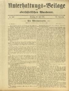 Unterhaltungs-Beilage zum Oberschlesischen Wanderer, 1911, Jg. 84, Nr. 167