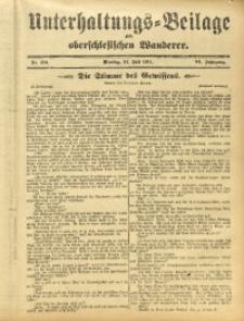 Unterhaltungs-Beilage zum Oberschlesischen Wanderer, 1911, Jg. 84, Nr. 172