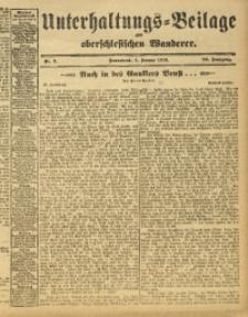 Unterhaltungs-Beilage zum Oberschlesischen Wanderer, 1913, Jg. 86, Nr. 3