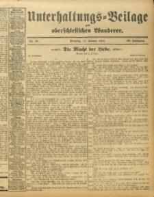 Unterhaltungs-Beilage zum Oberschlesischen Wanderer, 1913, Jg. 86, Nr. 10